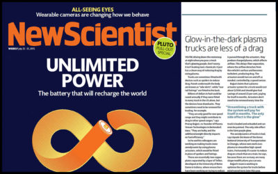 Plasma In New Scientist