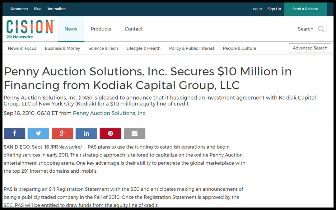 Founder & CEO Secures Millions In Financing