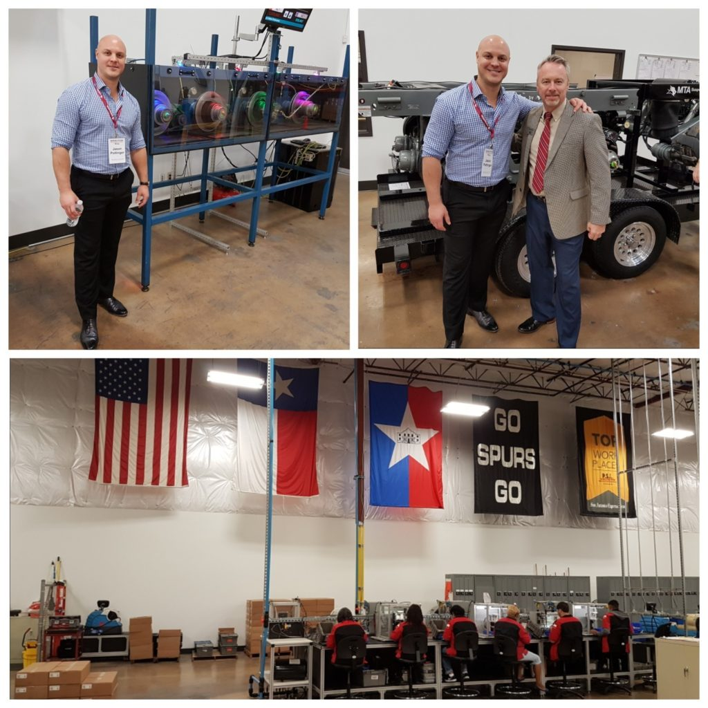 CEO, Jason Pottinger visits Pressure Systems International's (investor in Plasma Stream Technologies) manufacturing facility in San Antonio Texas.