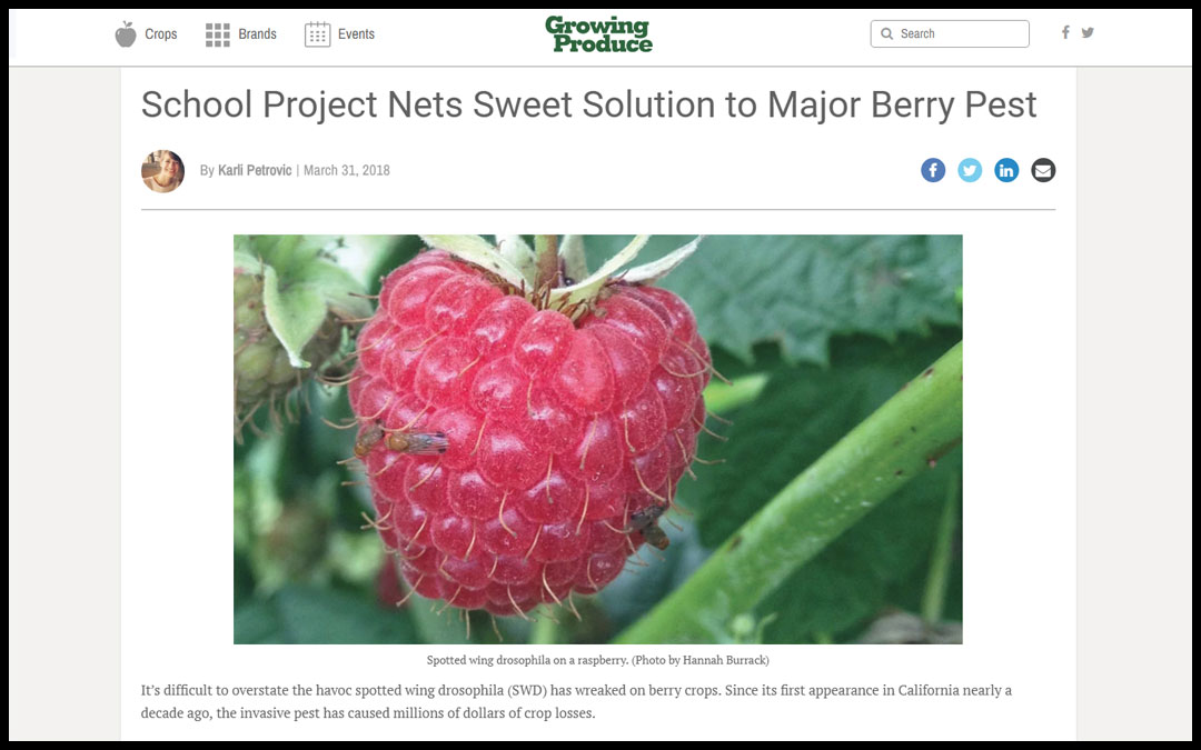 Growing Produce