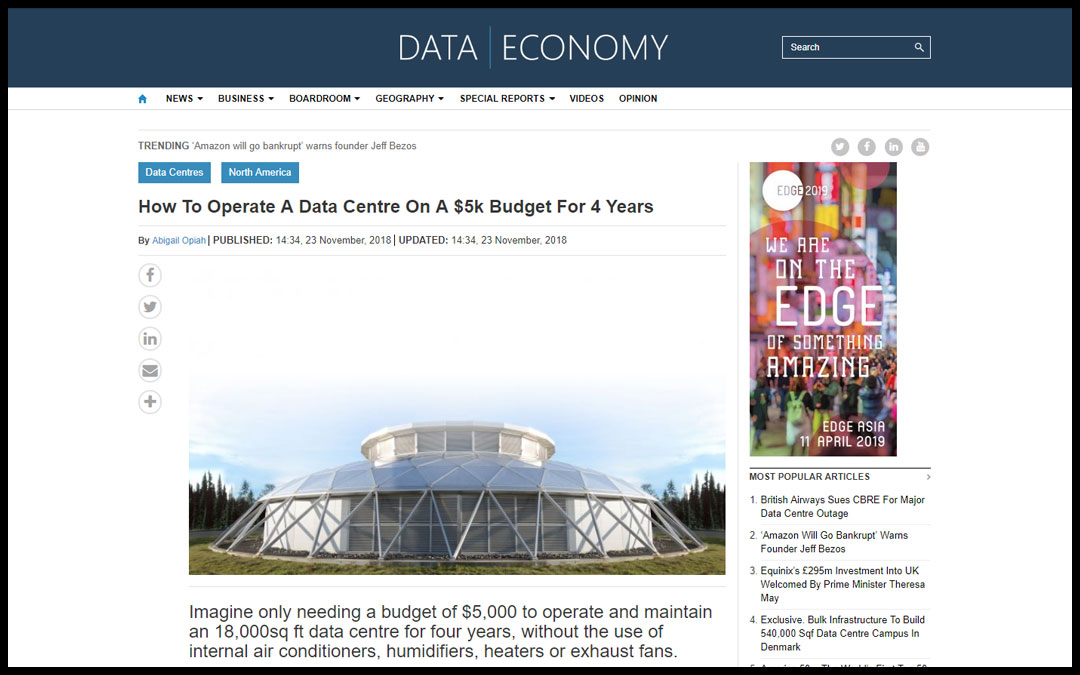 How To Operate A Data Centre On A $5k Budget For 4 Years